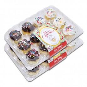 Gold Mini Cupcakes