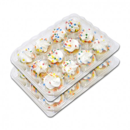 Confetti Mini Cupcakes