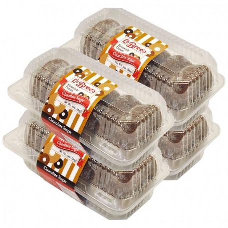 2 Dozen Chocolate Sugar Donuts (Full Year)
