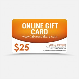 $25 Online Gift Card
