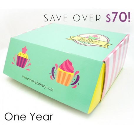 Monthly Bakery Box (Full Year)