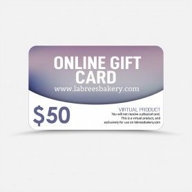 $50 Online Gift Card