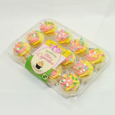 Spring Mini Cupcakes - Gold