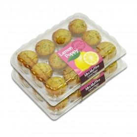 Lemon Poppy Mini Muffins